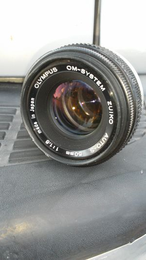 Olympus Zuiko 50mm f1:1.8 Clean Vintage Prime for Sale in Chino, CA