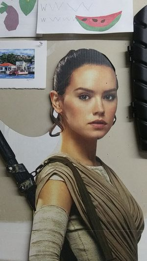 Ray star wars cardboard cutout for Sale in Kennewick, WA