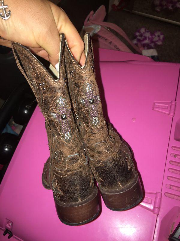 Roper little girl boots