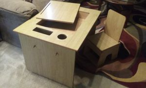 Kid desk w/ cubby and chair for Sale in Browns Mills, NJ