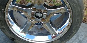 Ford Mustang wheels 4 lugs 17inch for Sale in Cumberland, VA