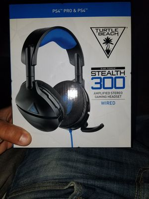 Turtle Beach Wired Stealth 300 Amplified Stereo Gaming Headset for Sale in Dinuba, CA