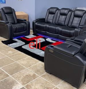 Reclining living room set. Sofa loveseat chair for Sale in League City, TX