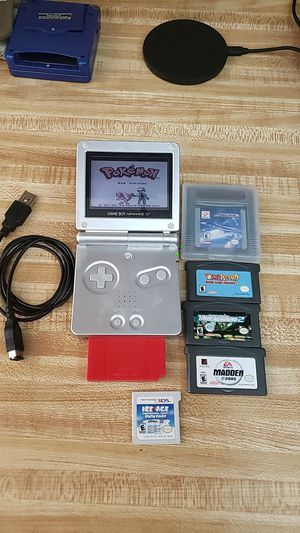 Gameboy advanced sp bundle for Sale in San Antonio, TX