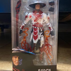 Brand New Mortal Kombat Action Figure Raiden White Hot Fury for Sale in Downey, CA