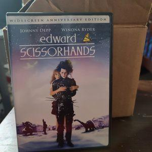 DVD Movie Edward Scissorhands for Sale in South Gate, CA