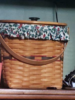 ' 97 Longaberger Seasons Tidings Basket for Sale in New Palestine, IN