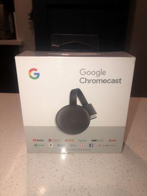Google Chromecast-**BRAND NEW SEALED IN BOX! for Sale in Scottsdale, AZ