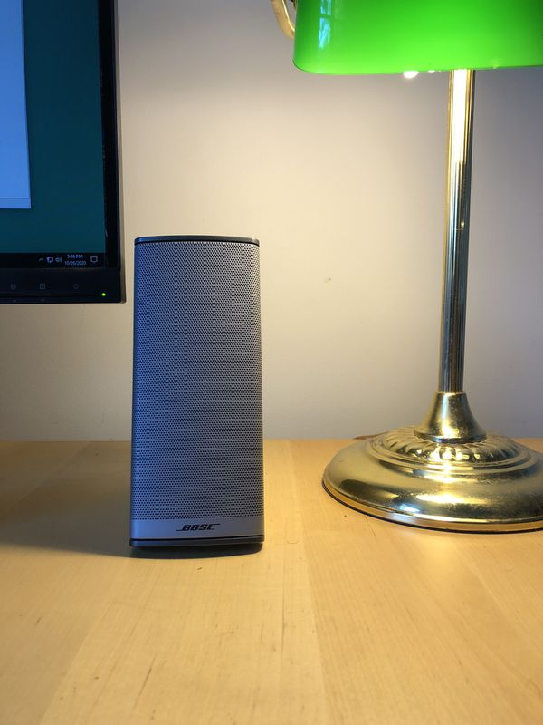 Bose Silver Premium PC Clean Speakers