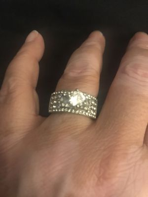Diamondique and silver ring brand new size 8 for Sale in Glen Burnie, MD