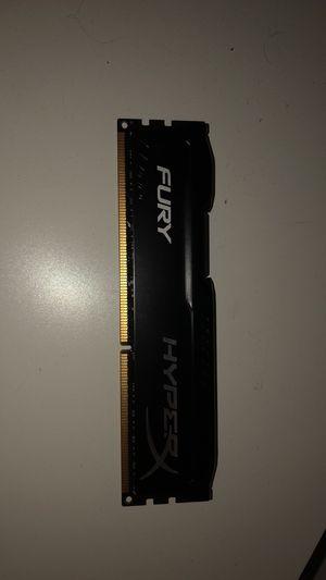 HyperX FURY AND Crucial Plug N Play 16GB DDR3 Ram for Sale in Nicholson, PA