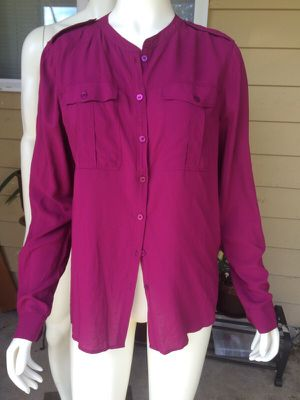 Burberry button up for Sale in Marysville, WA