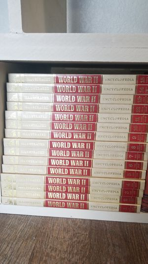 World war2 encyclopedia and military year books for Sale in Fresno, CA