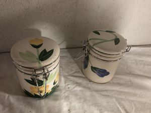 2 storage containers - both for $3 for Sale in Franklin Township, NJ