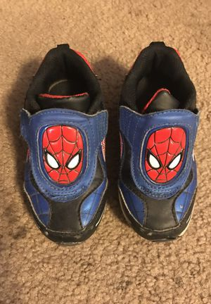 Size 9 Spider-Man shoes for Sale in Lodi, CA