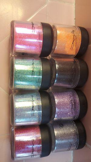 Mac eyeshadow glitter pigments for Sale in Tacoma, WA