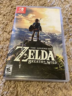 The Legend Of Zelda Breath Of The Wild Nintendo Switch Game for Sale in Oregon City,  OR