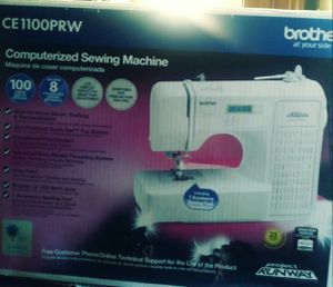 Brand new, never opened Computerized Sewing Machine Brother CE1100PRW for Sale in St. Cloud, FL