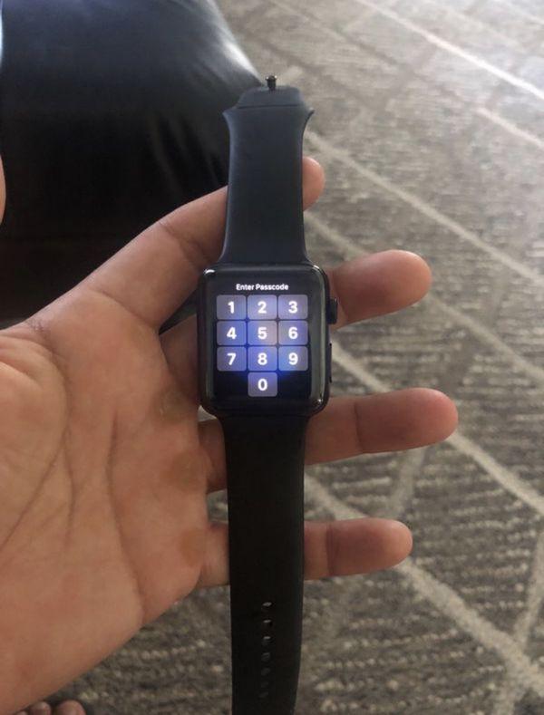 1st generation black stainless steel 42mm Apple Watch