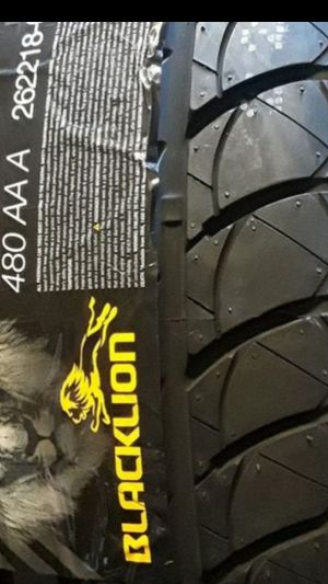 215/55R17 [4] NEW BLACKLION TIRES installed ✔ for Sale in Los Angeles, CA