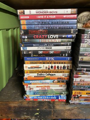 Large Lot of DVDs (50¢) and Blu Ray Movies ($1) for Sale in Rancho Cucamonga, CA