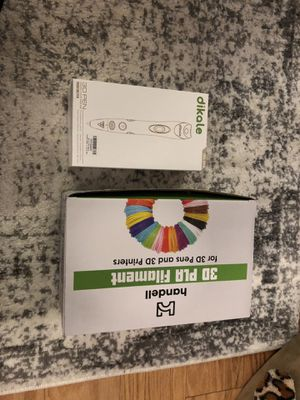 New in Box Dikale 07A 3D Pen with Filament Refills for Sale in New York, NY