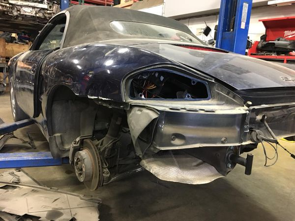 Porsche Boxster 986.1 parts project shell chassis MAKE OFFER