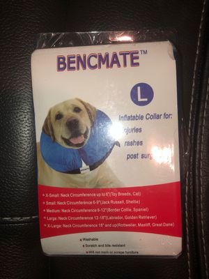 Inflatable collar for injuries for dogs 🐕 for Sale in Los Angeles, CA