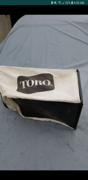 TORO Recycler Grass Bag for Sale in Fort Washington, MD