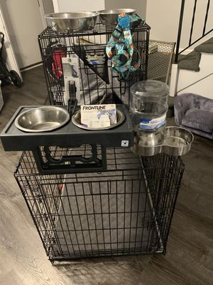 Dog cages and more for Sale in Queens, NY