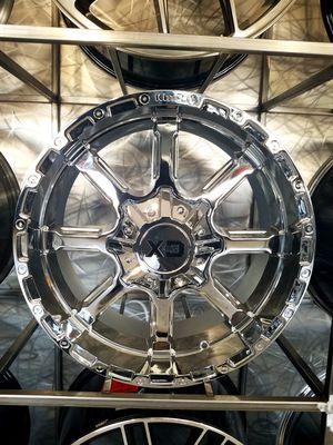 PRICE PER WHEEL 20x9 chrome XD Mammoth fits stock suspension silverado 1500 Ford f150 f250 2500 jeep for Sale in Tempe, AZ