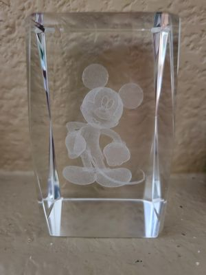 Disney Mickey Mouse paperweight for Sale in Stockton, CA