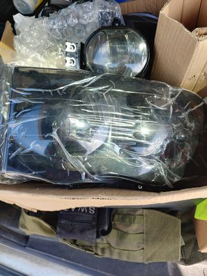 Tinted headlights and fog lights for a 2003 to 2005 Dodge Ram. $200. for Sale in Pride, LA