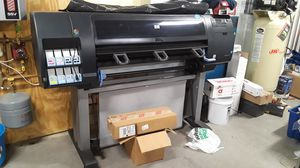 Hp designjet z6100 large scale printing for Sale in Columbus, MN