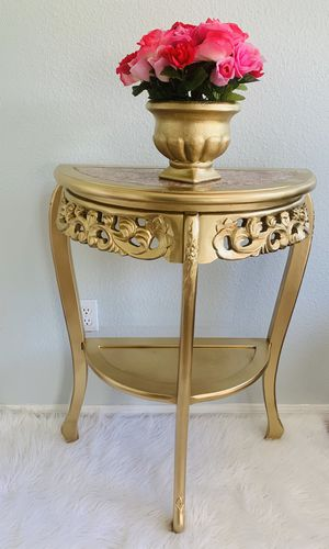 Marble top console entryway table for Sale in Wesley Chapel, FL