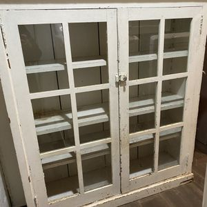 Old Glass Door Cabinet for Sale in Benicia, CA
