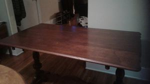 Antique library desk table. Great design 1930s 1940s for Sale in Portland, OR