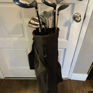 Cougar Golf Set With Backpack Strap Bag for Sale in Los Angeles, CA