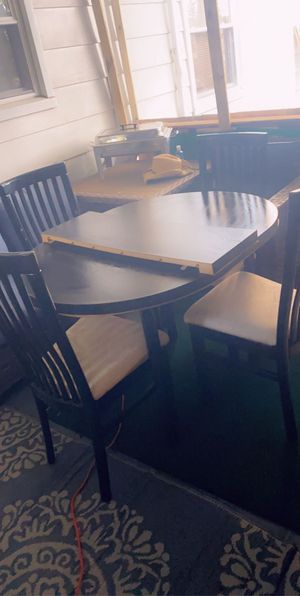 Black kitchen dining table for Sale in Swansea, IL