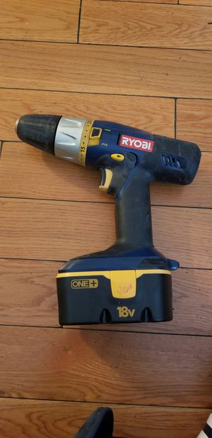 I am saleing a Ryoibi drill with batteries works perfect nothing wrong with it. for Sale in Los Angeles, CA