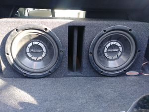 2 10 inch pioneer subs for Sale in Hayward, CA