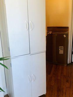White bookcase/storage cabinet for Sale in Arlington,  VA