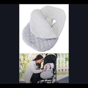 Infant Car seat or stroller blanket- light pink ✨ 0-12 months for Sale in Tampa, FL