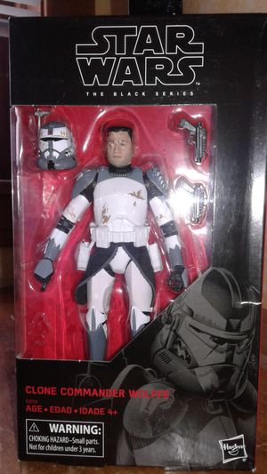 Star wars the black series clone commander wolffe collectible action figure. for Sale in Berwyn, IL
