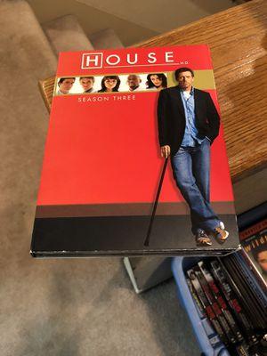 House M.D. Season 3 DVD Box Set S3 Tv Series three 3 for Sale in Buena Park, CA