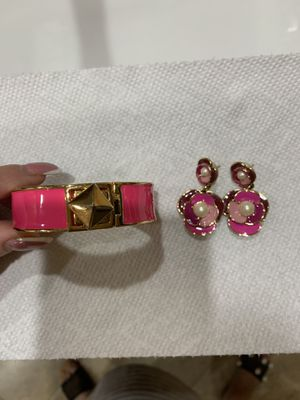 Kate Spade .braclets&earrings for Sale in Fairfax, VA