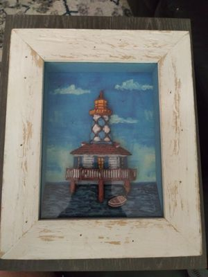 "Nautical wall decor frame 12"" x 10"" for Sale in Gaithersburg, MD"
