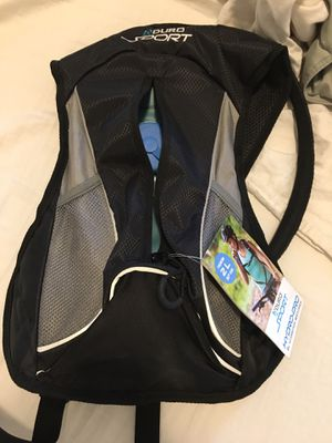outdoors hydration backpack for running biking backpacking Brand new never used for Sale in Madison Heights, MI