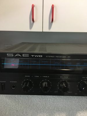 SAE two stereo receiver r1 for Sale in Glenvar Heights, FL