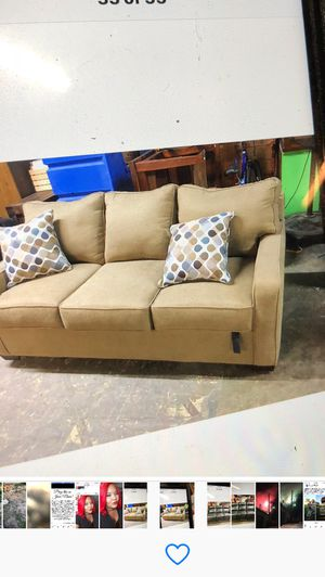 New couch with a sofa bed for Sale in Tutwiler, MS